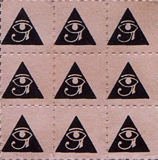 Horusauge im Dreieck