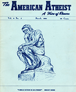 American Atheist Volume 6, Issue 3 (March 1964)
